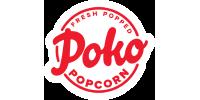 Poko logo - Fresh Popped Popcorn