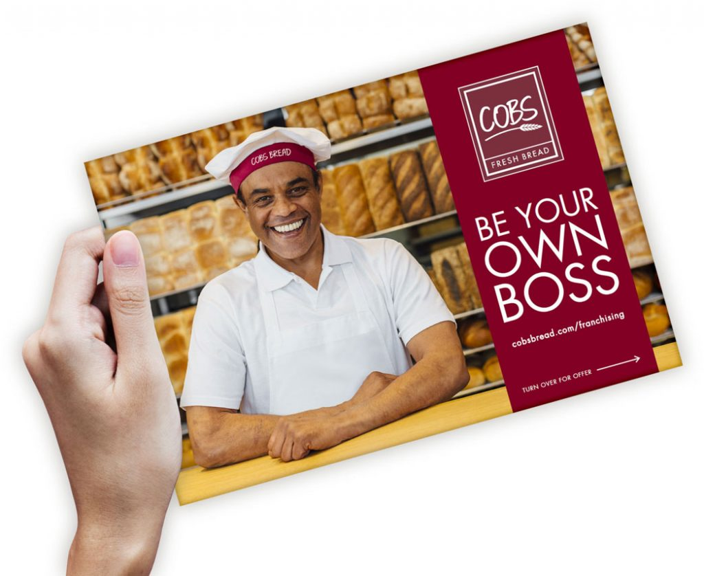 cobs bread - be your own boss