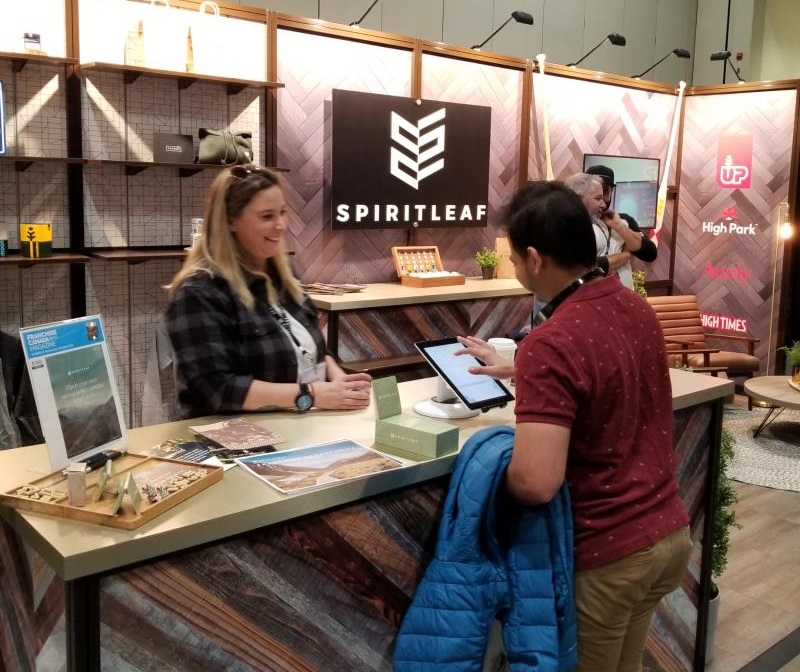 Spiritleaf at Trade Show