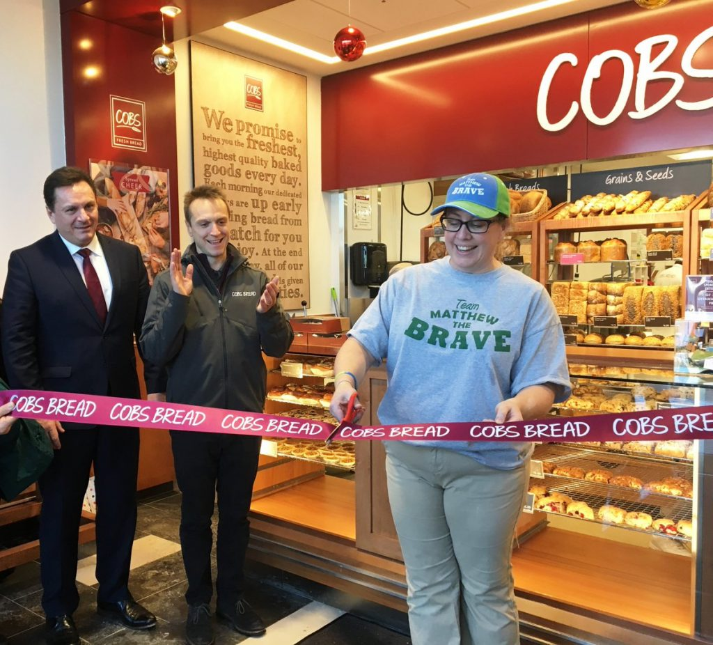 Cobs Bread franchisee opening
