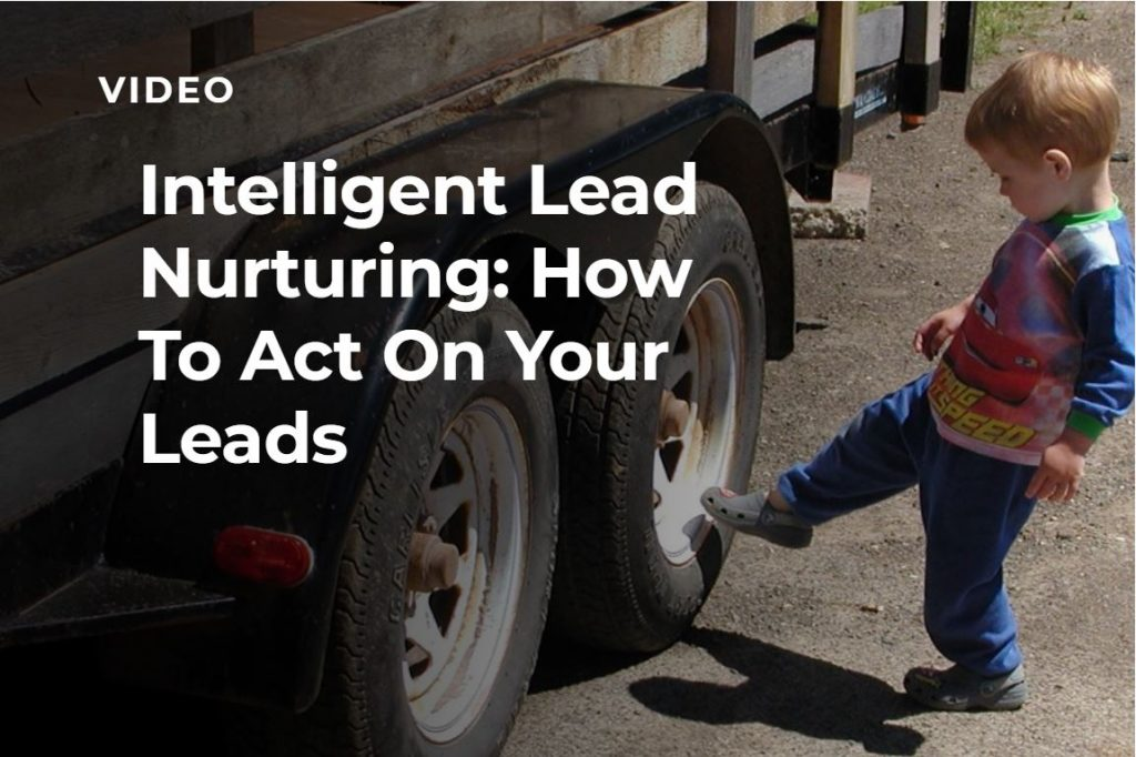 Video Lead Nurturing Webinar Banner