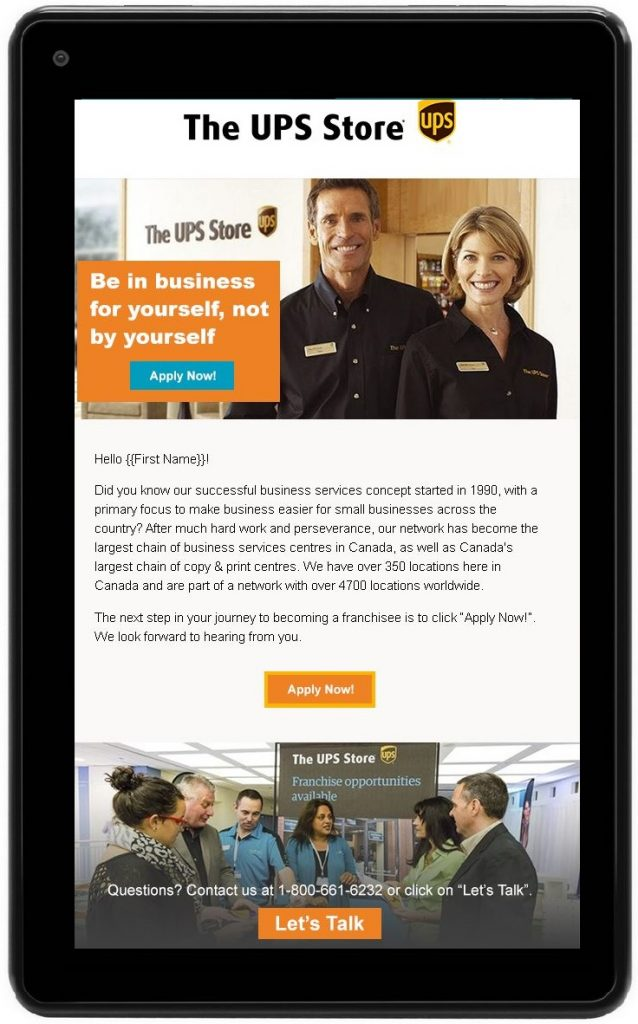 UPS Store Email