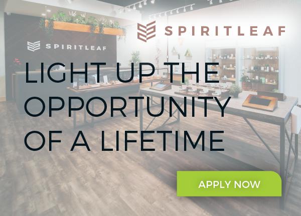 Spiritleaf email header